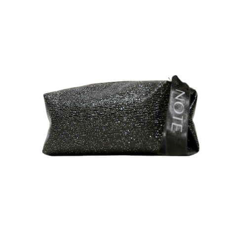 Black Glossy Make Up Bag