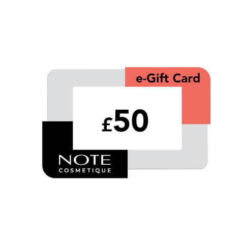 Note Cosmetics eVoucher (£50)