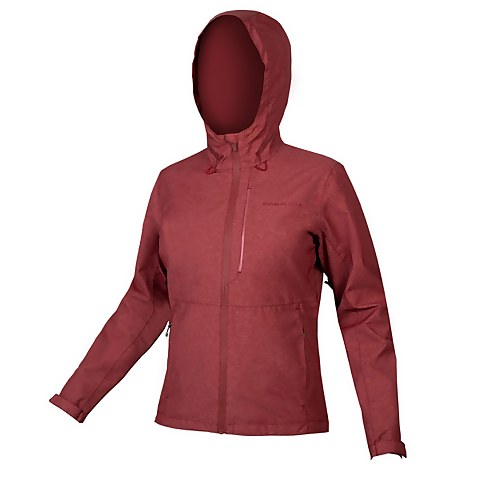 Womens Hummvee Waterproof Hooded Jacket - Cocoa