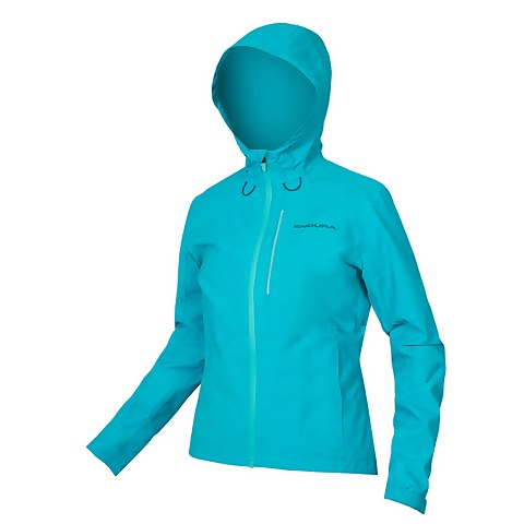 Womens Hummvee Waterproof Hooded Jacket - Pacific Blue