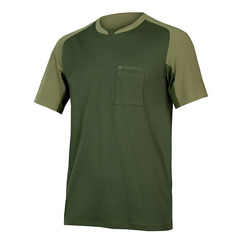 GV500 Foyle T - Olive Green