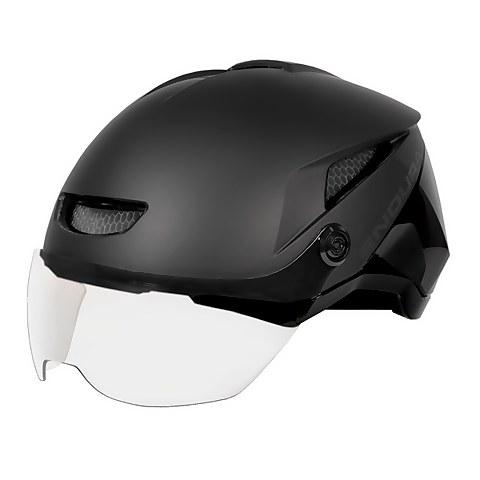 SpeedPedelec Visor Helmet - Black