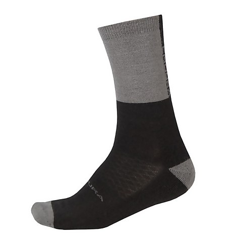 BaaBaa Merino Winter Sock - Black