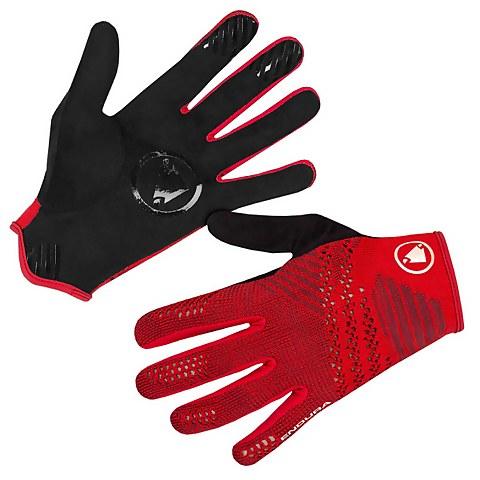 SingleTrack LiteKnit Glove - Rust Red
