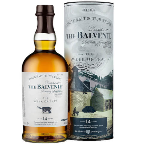The Balvenie Stories The Week of Peat 14 Year Single Malt Old Scotch Whisky 70cl