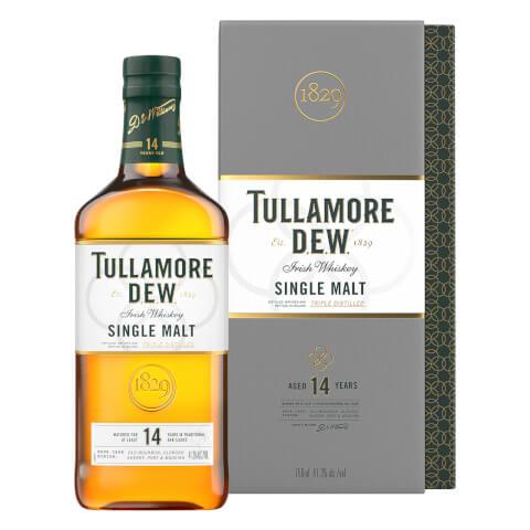 Tullamore D.E.W. 14 Year Old Single Malt Irish Whiskey 70cl