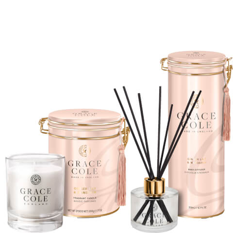 Ginger Lily & Mandarin Home Fragrance Duo