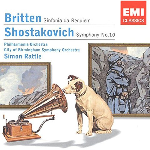 Sinfonia Da Requiem/Symphony No. 10 (Rattle)