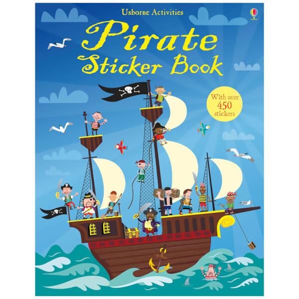 Pirate Sticker Book (Paperback)
