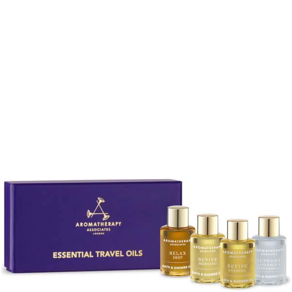 Aromatherapy Associates Essential Travel Oils - 4 x 7.5ml