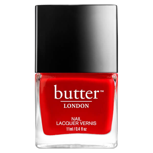 Laca de uñas butter LONDON Come to Bed Red 3 Free Lacquer 11ml
