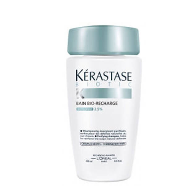 K rastase bain bio recharge for combination hair 250ml for Bain miroir 1 kerastase
