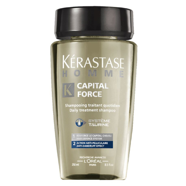 Kérastase Homme Captial Force Anti-Dandruff Shampoo (250 ml)