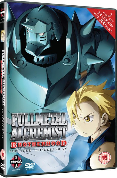 Fullmetal Alchemist Brotherhood Four (Episodes 40-52)