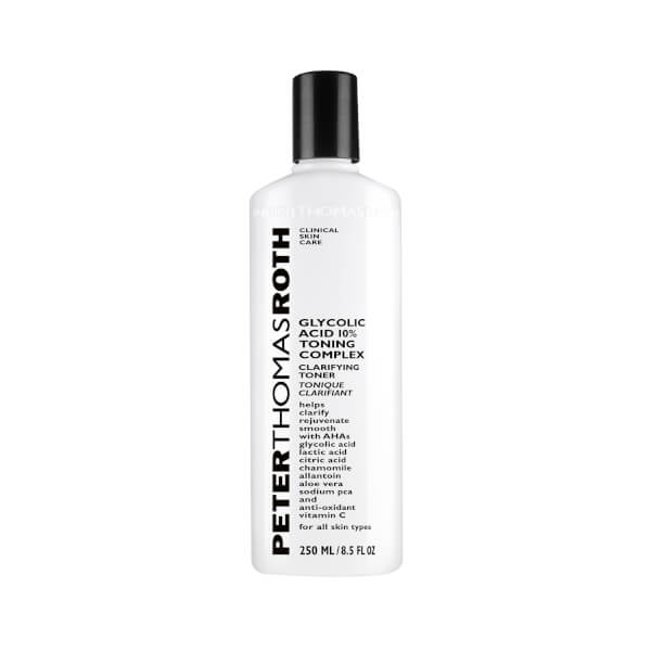 Peter Thomas Roth tonique éclaircissant à l'acide glycolique 250ml