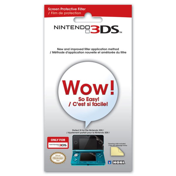 Nintendo 3DS Screen Protective Filter
