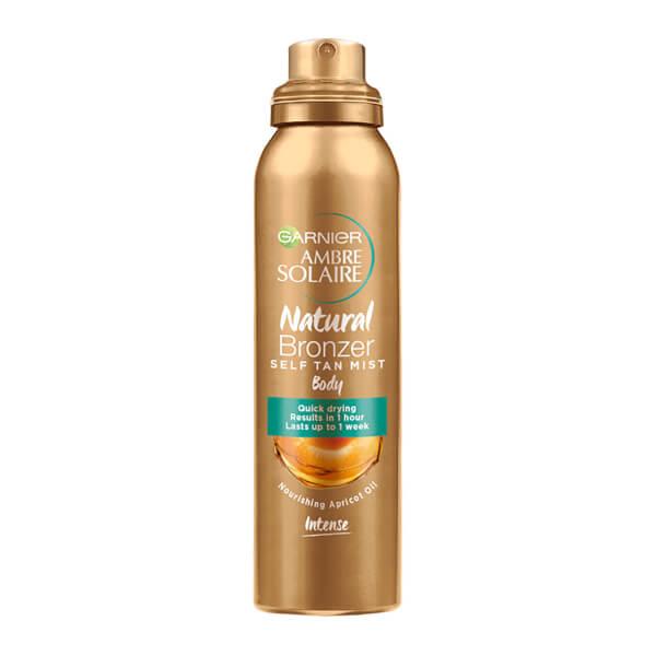 Ambre Solaire Natural Bronzer Quick Drying Dark Self Tan Body Mist 150ml