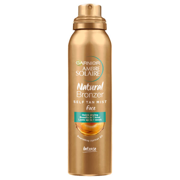 Ambre Solaire Natural Bronzer Quick Drying Dark Self Tan Face Mist 75ml