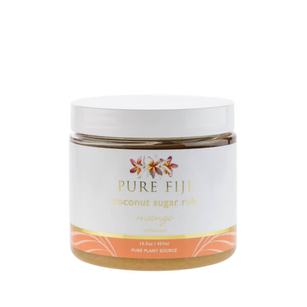 Pure Fiji Coconut Sugar Rub Mango - 16oz
