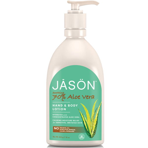JASON Soothing 70% Aloe Vera Hand and Body Lotion (470ml)