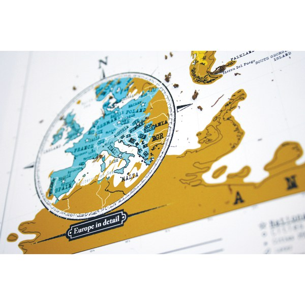 Travel edition scratch map iwoot travel edition scratch map gumiabroncs Gallery