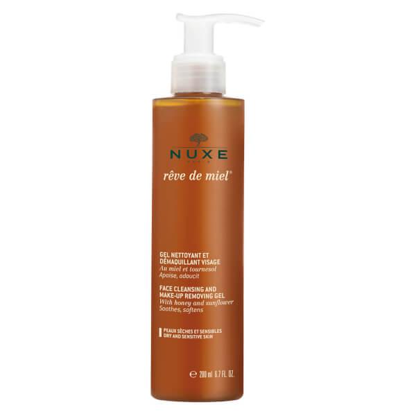 NUXE Reve De Miel Gel Nettoyant Visage - Facial Cleansing Gel (200ml)