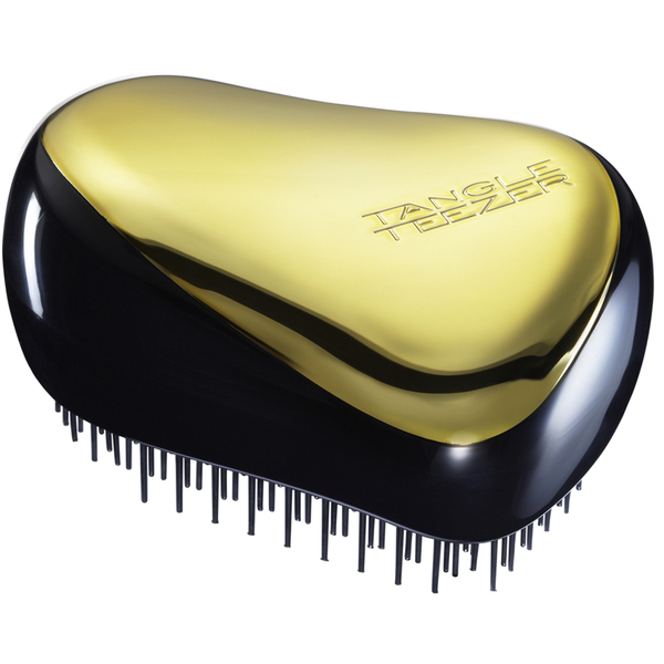 Tangle Teezer Compact Styler Hairbrush Gold Rush Free