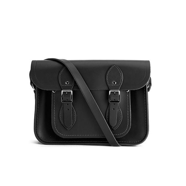 The Cambridge Satchel Company 11 Inch Classic Leather Satchel - Black