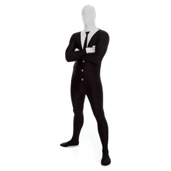 Morphsuit Adults' Slenderman - Black