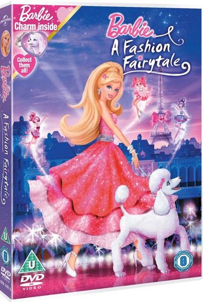 Barbie In A Fashion Fairytale Dvd Zavvi