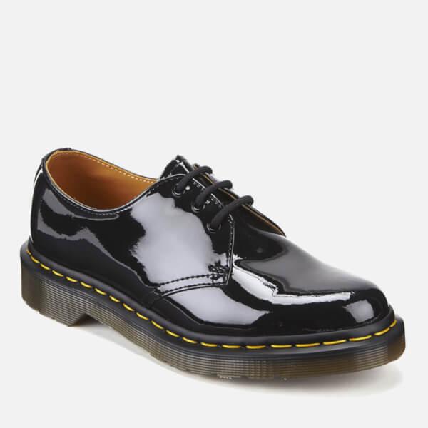 6ad23301d8 Dr. Martens Women s 1461 Patent Lamper 3-Eye Shoes - Black  Image 5