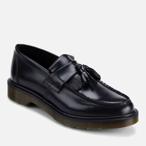 Dr. Martens Men's Adrian Pw Polished Leather Loafers - - UK 4 kPgXhp