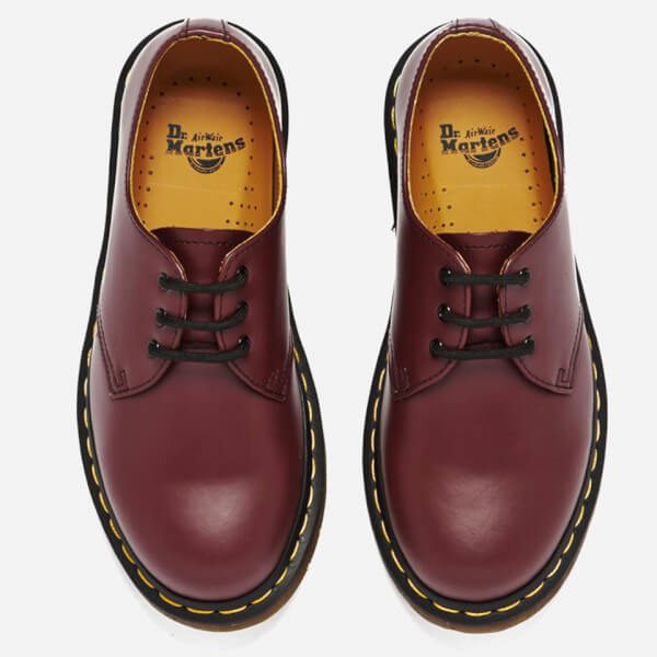 Dr. Martens 1461 Smooth Leather 3-Eye Shoes - Cherry Red  Image 2 3cd3f2eaa44
