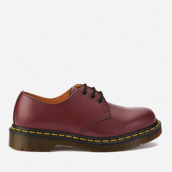 52c43b477ad Dr. Martens 1461 Smooth Leather 3-Eye Shoes - Cherry Red | FREE UK ...