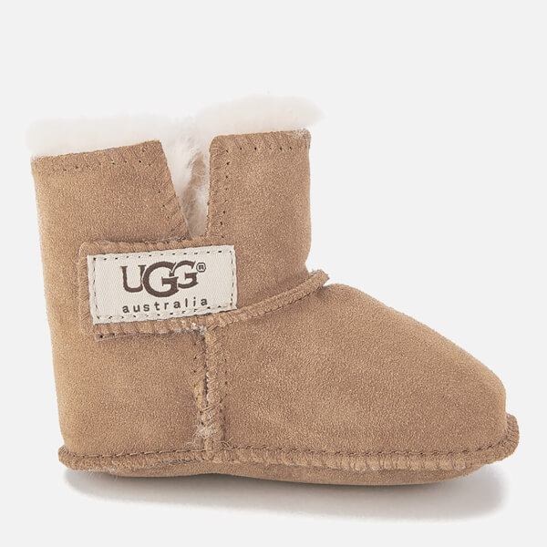 UGG Babies' Erin Suede Pre-Walker Boots - Chestnut