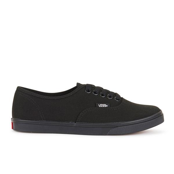 d047818923 Vans Women s Authentic Lo Pro Trainers - Black Black  Image 1