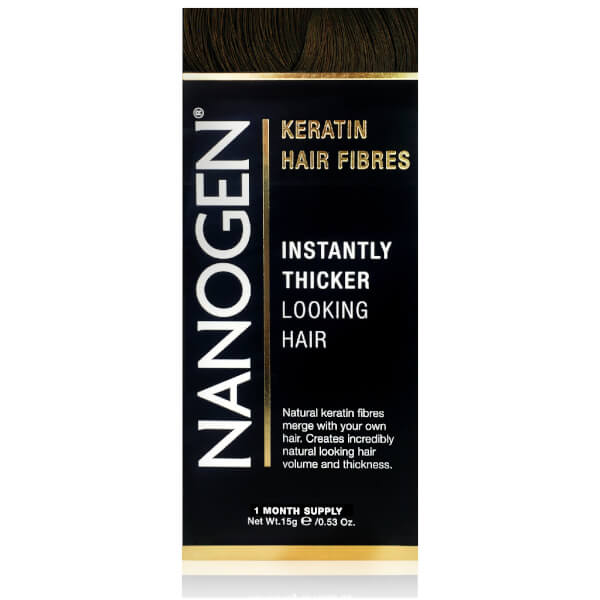 Nanogen Hair Thickening Fibres Dark Brown (15g)