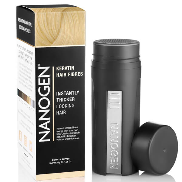 Nanogen Hair Thickening Fibres White (30g)