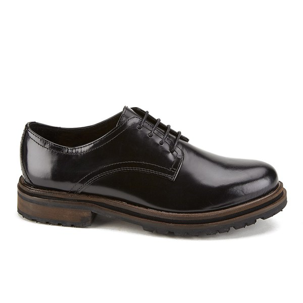 Hudson London Women's Hollin High Shine Lace Up Shoes - Black