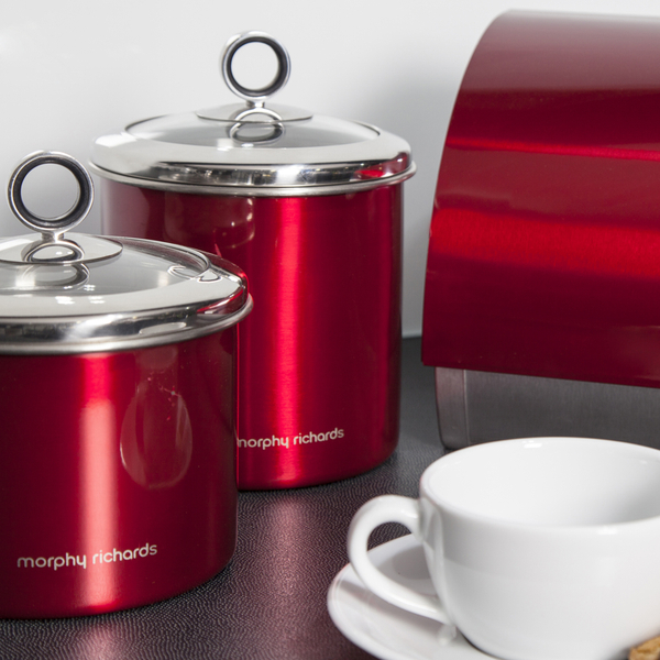 Morphy richards red accents