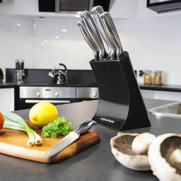Morphy Richards Kitchen Set: Morphy Richards 46290 5 Piece Knife Block