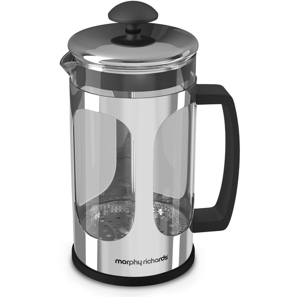 morphy richards equip cafetiere stainless steel iwoot. Black Bedroom Furniture Sets. Home Design Ideas