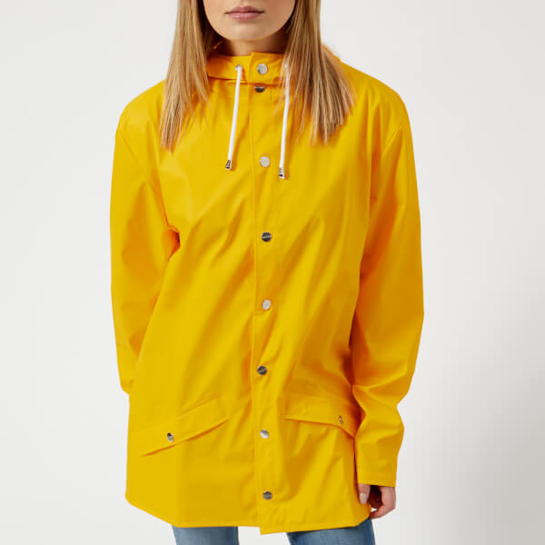 RAINS Women's Jacket - Yellow