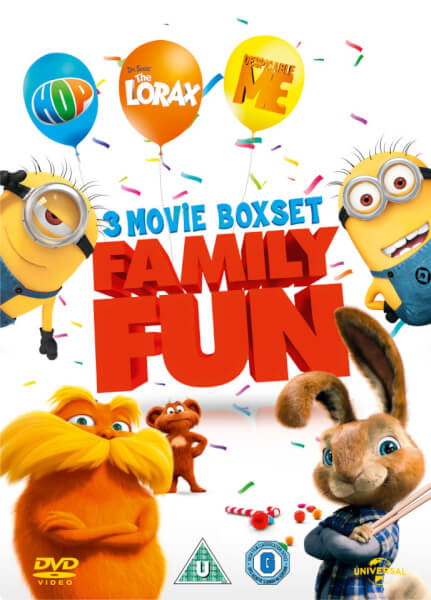 Hop Despicable Me Dr Seuss The Lorax Dvd Zavvi