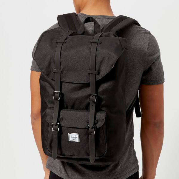 12795c711a Herschel Supply Co. Men s Little America Backpack - Black Rubber  Image 3
