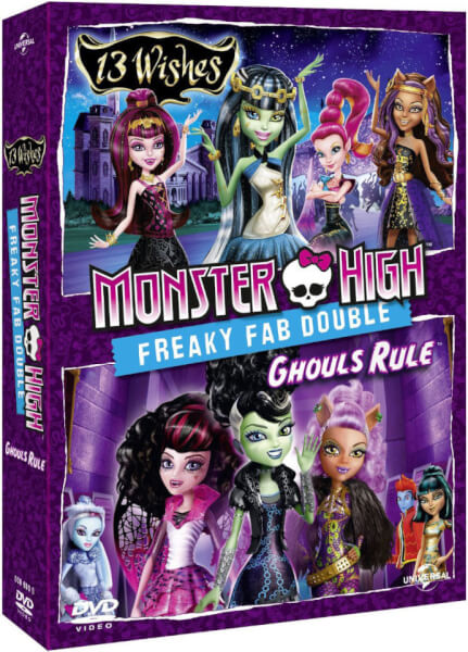Monster High: Ghouls Rule / Monster High: 13 Wishes