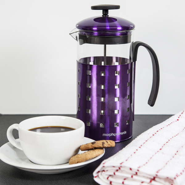 morphy richards 46193 8 cup cafetiere plum 1000ml iwoot. Black Bedroom Furniture Sets. Home Design Ideas