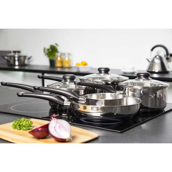 Morphy Richards Kitchen Set: Morphy Richards 970002 5 Piece Pan Set