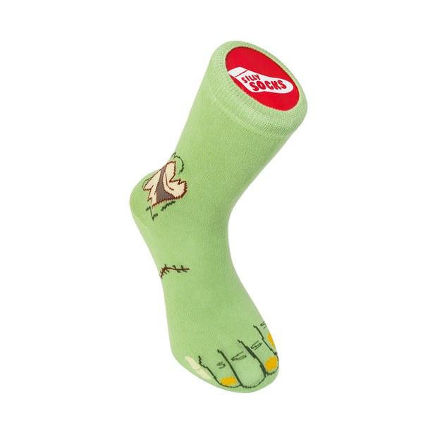 Zombie Silly Socks