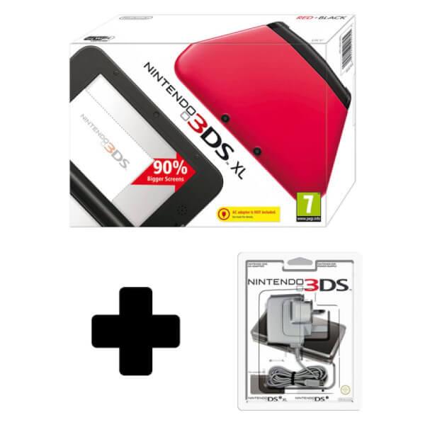 Nintendo 3DS XL Red (Black Interior)